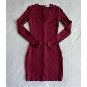 Babaton long sleeve dress Dress